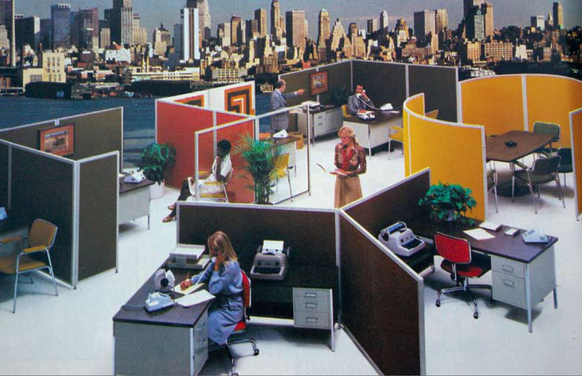 [the 1980s office aesthetic]